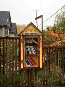 Vancouver's Neighbourhood Book Exchanges