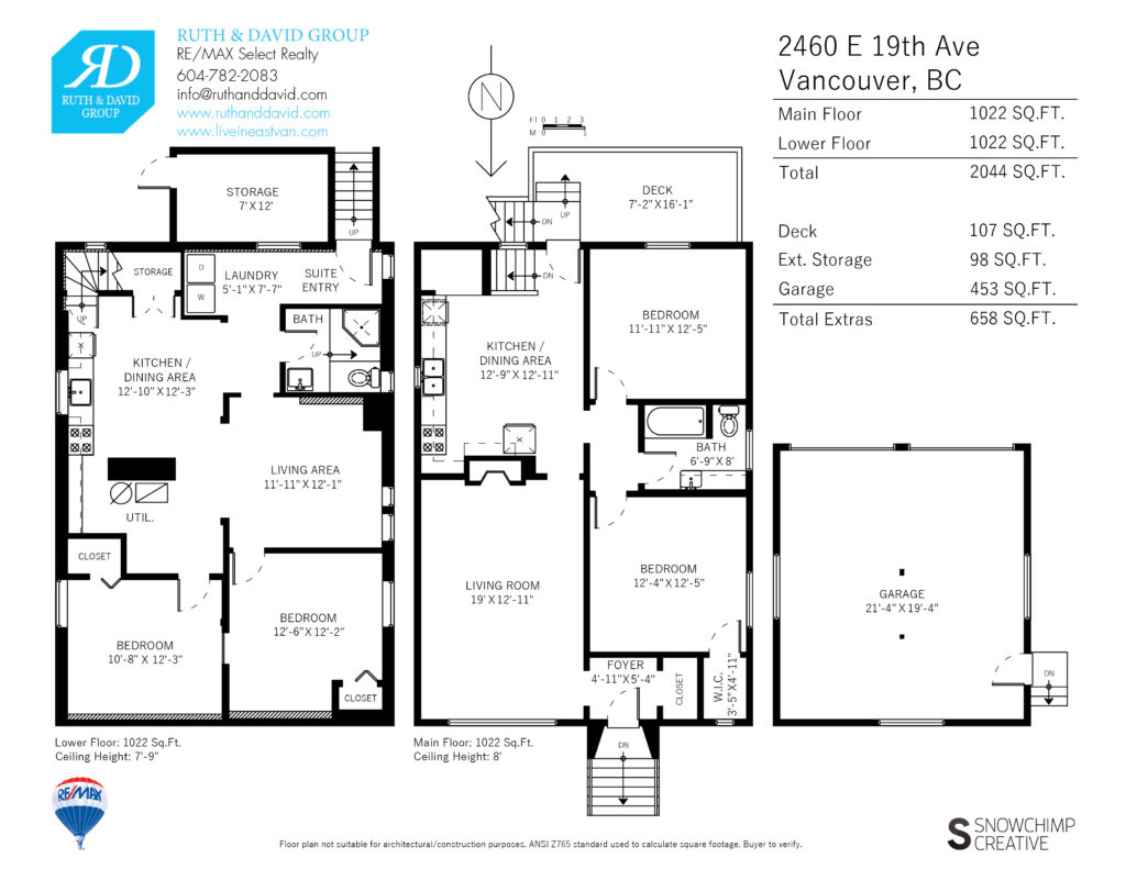 2460 East 19th Floor Plan