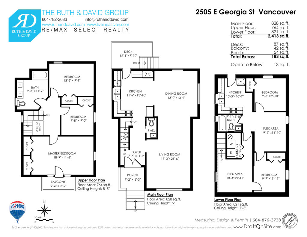 2505 East Georgia Floor Plan