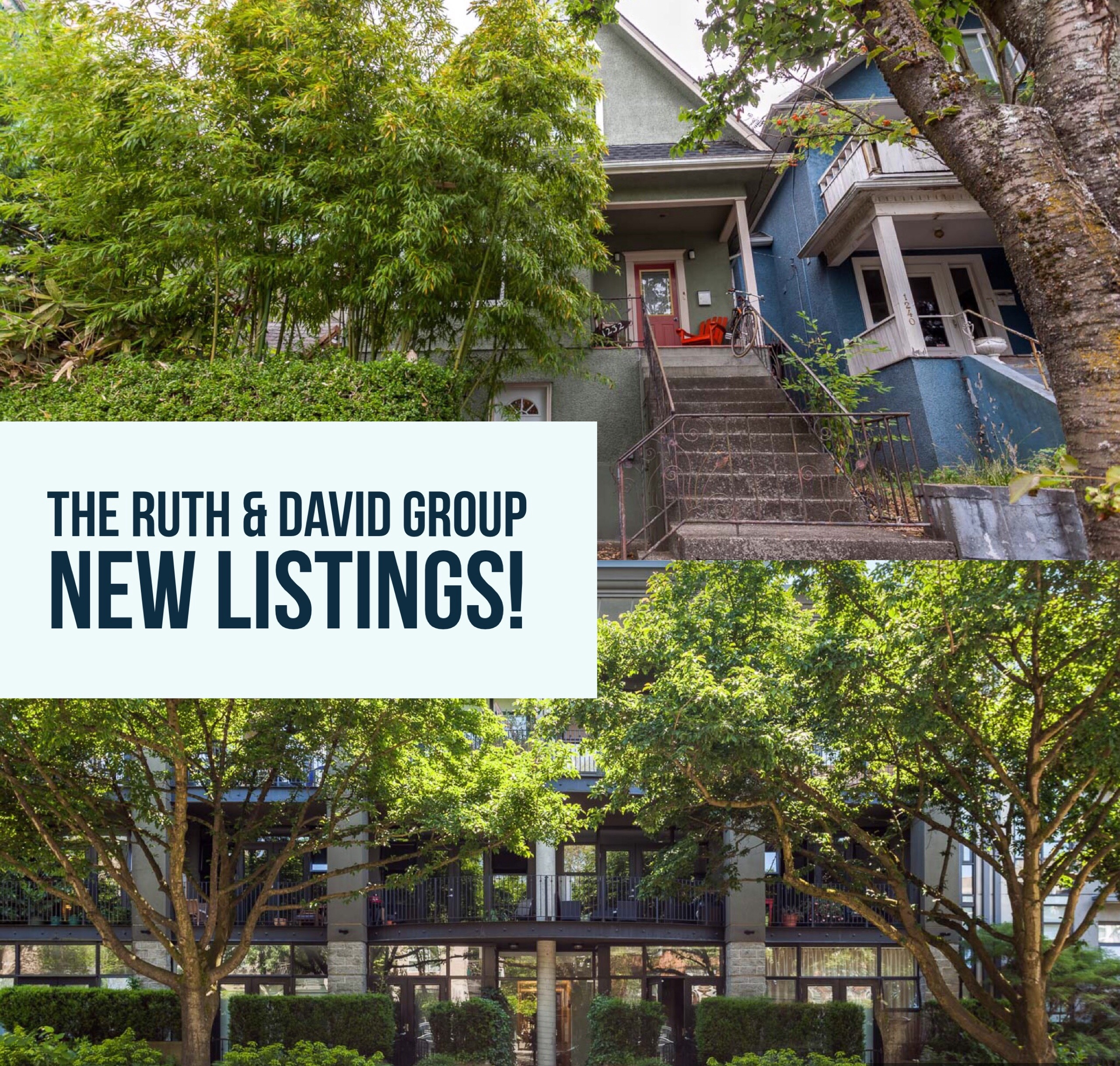 The Ruth & David Group - New Listings