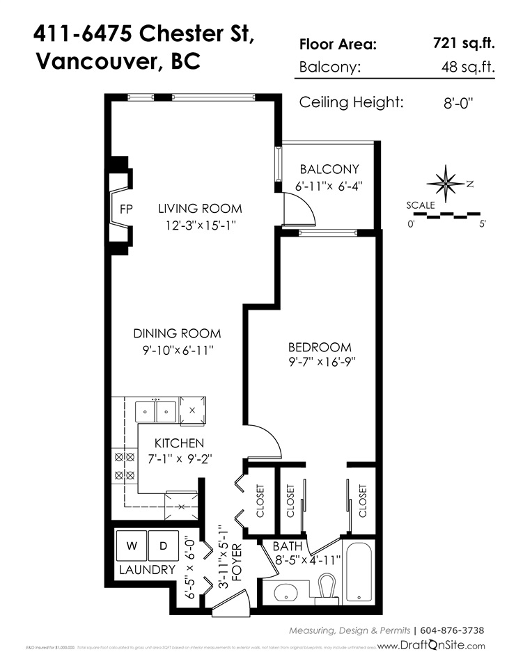 411 6475 CHESTER STREET Vancouver, BC - 20
