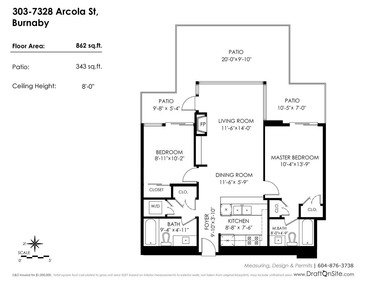 303 7328 ARCOLA STREET Burnaby, BC - 19