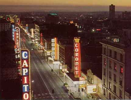 Granville street, we used to call it Theater Row for a reason!