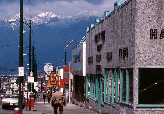 Main Street looking North (1978) - -Vancouver by Pop Snap