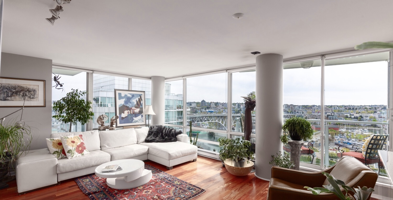Yaletown condo for sale - 1806-1500 Hornby Street