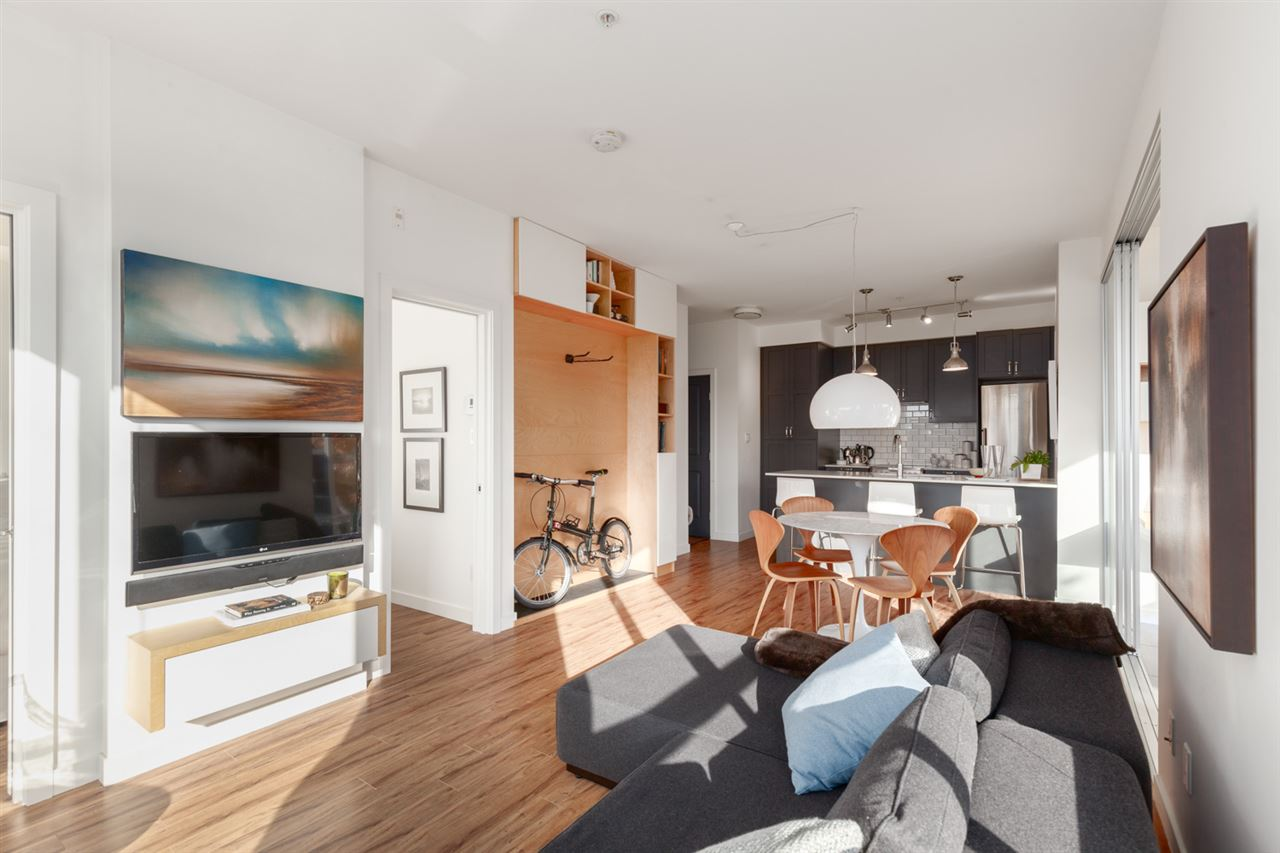 1 Bedroom Condo For Sale in East Van -- 102-683 East 27th Avenue