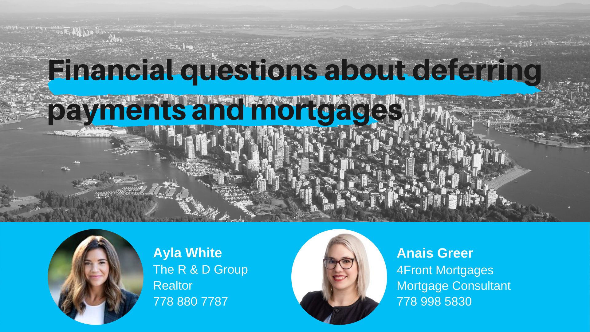 What's Happening with Mortgages and Real Estate during COVID?